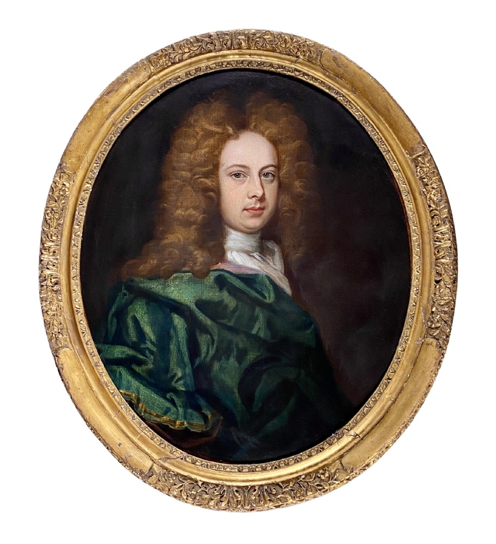 portrait of a young gentleman circa 1690 circle of johann kerseboom