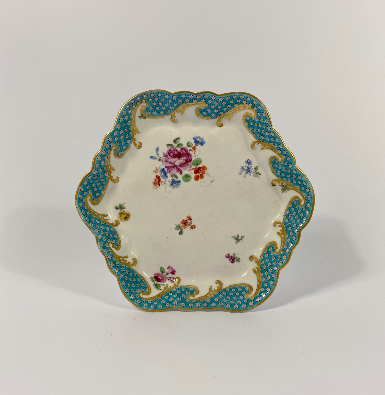 chelsea derby porcelain teapot stand c 1775