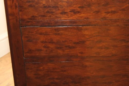 mahogany plum pudding french commode - photo angle #4