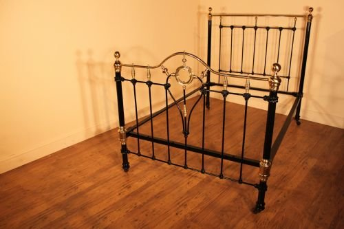 dating antique iron beds