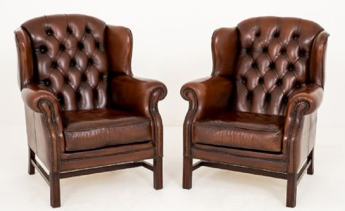 Philip Hunt Antiques - Antique Leather Chairs - The UK's Largest Antiques Website
