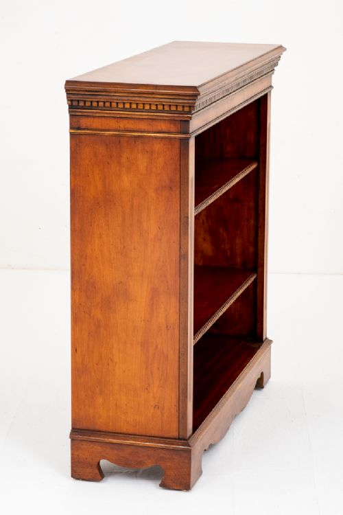 Cherry Wood Open Bookcase | 678039 | Sellingantiques.co.uk