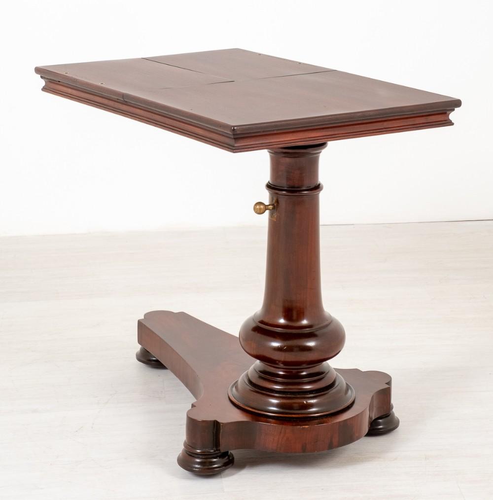 victorian mahogany reading stand
