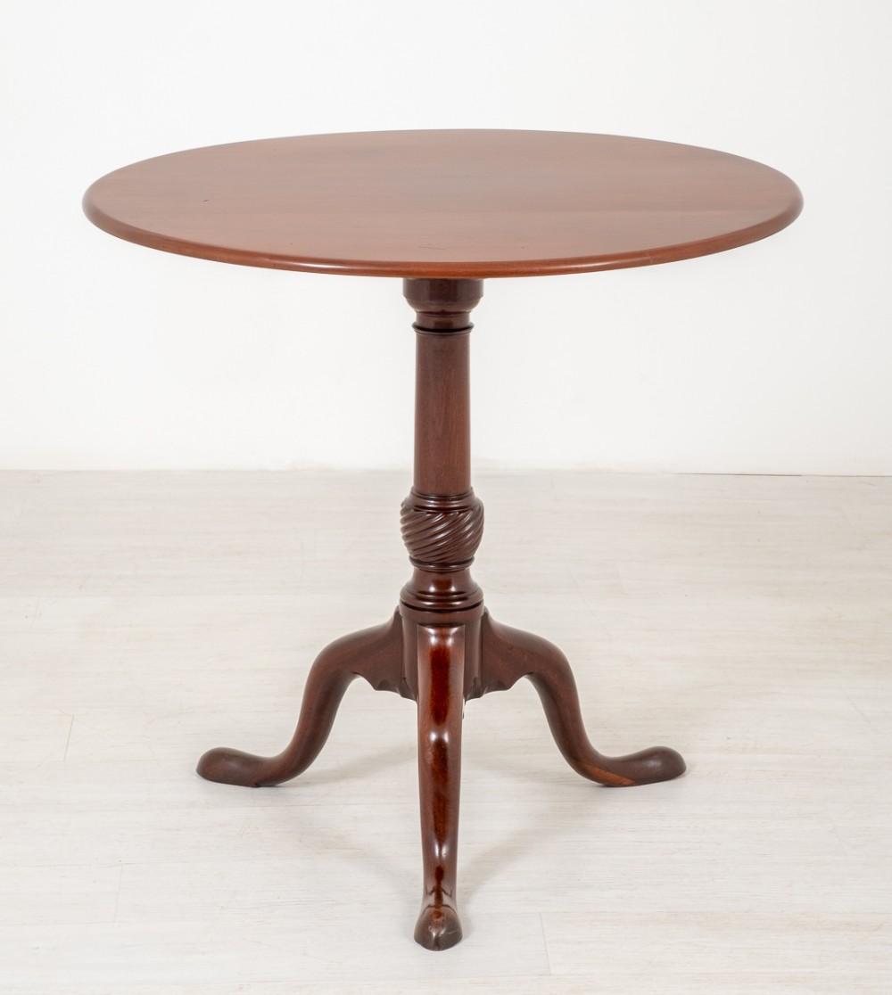 georgian mahogany wine table