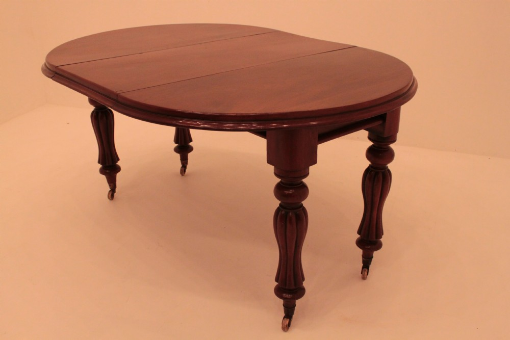 victorian mahogany circular extending dining table. Black Bedroom Furniture Sets. Home Design Ideas