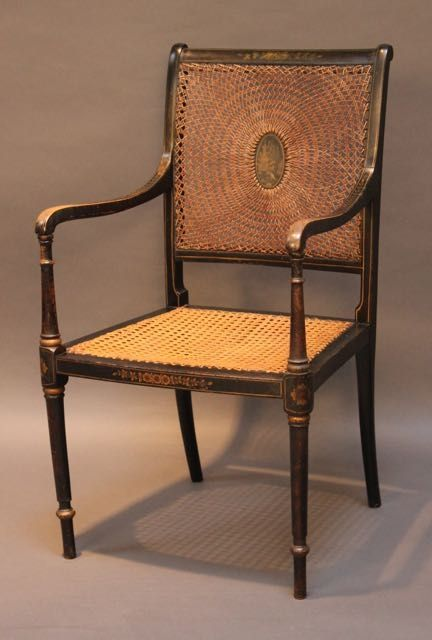 Piers Pisani Ltd Antiques and Furniture - Antique Cane Chairs - The UK's Largest Antiques Website