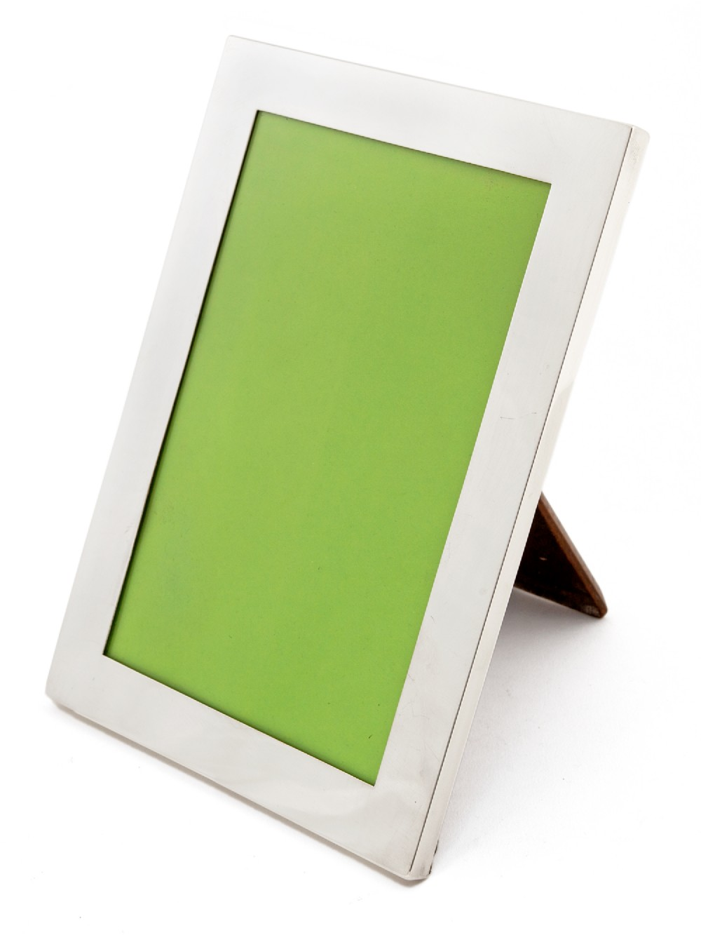 good quality plain border silver photo picture frame