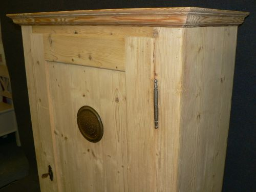 antique pine larder cupboard - photo angle #5