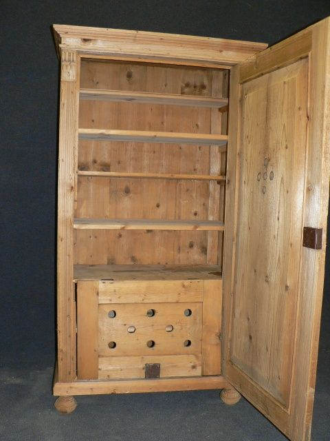 page load time 0.34 seconds - Antique Pine Larder Cupboard 236378 Sellingantiques.co.uk