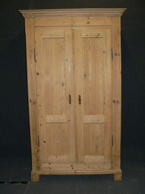 Tall Slim Antique Pine Wardrobe 256805 Sellingantiques Co Uk