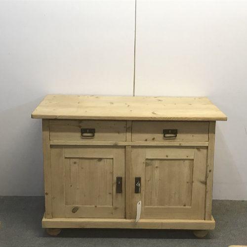 antique pine kitchen storage cupboard