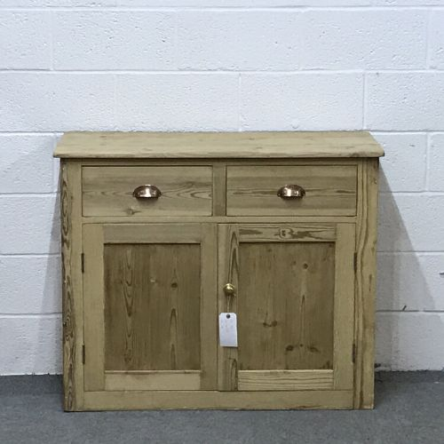 antique pine dresser base cupboard