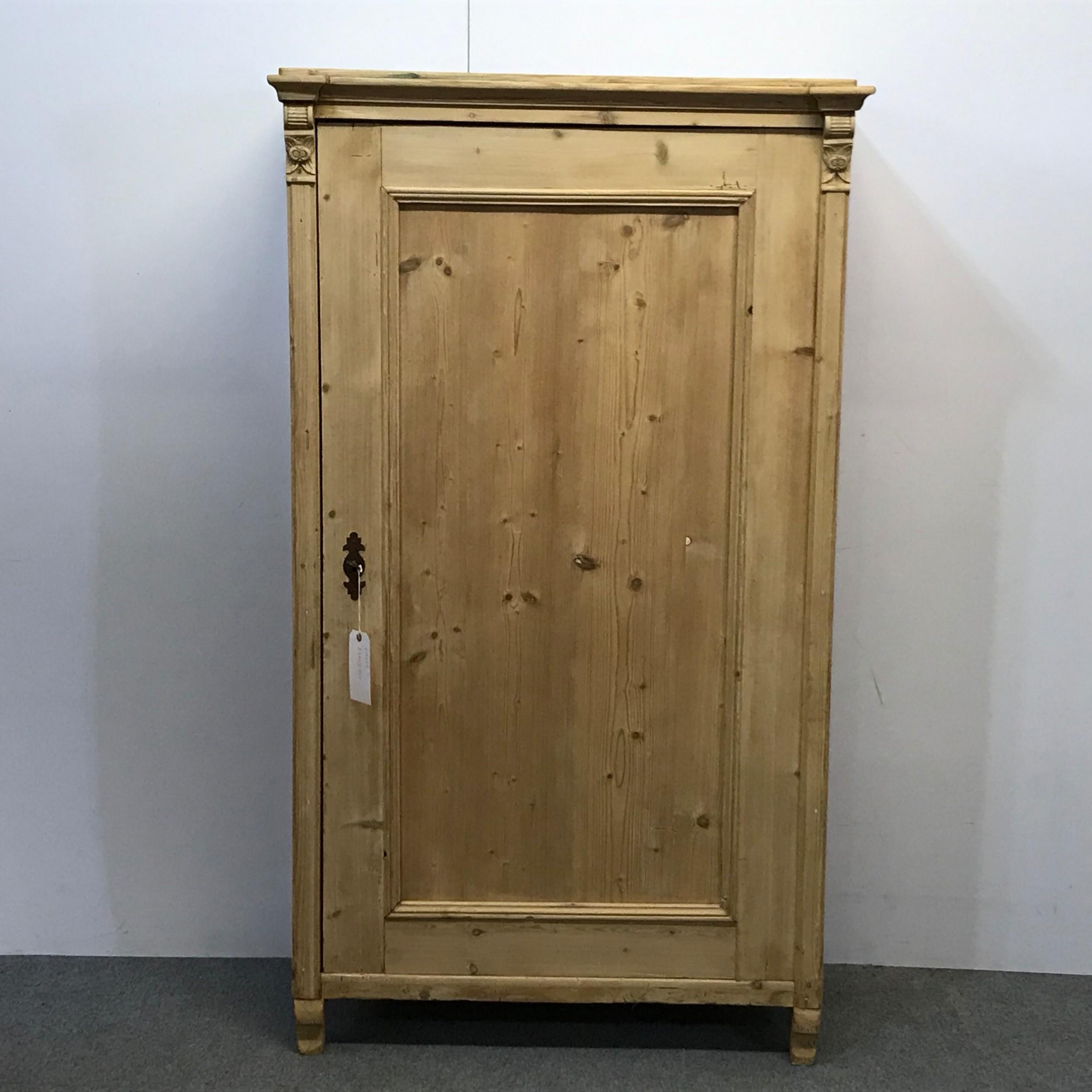 Antique Pine Linen Storage Cupboard   20   Sellingantiques.co.uk