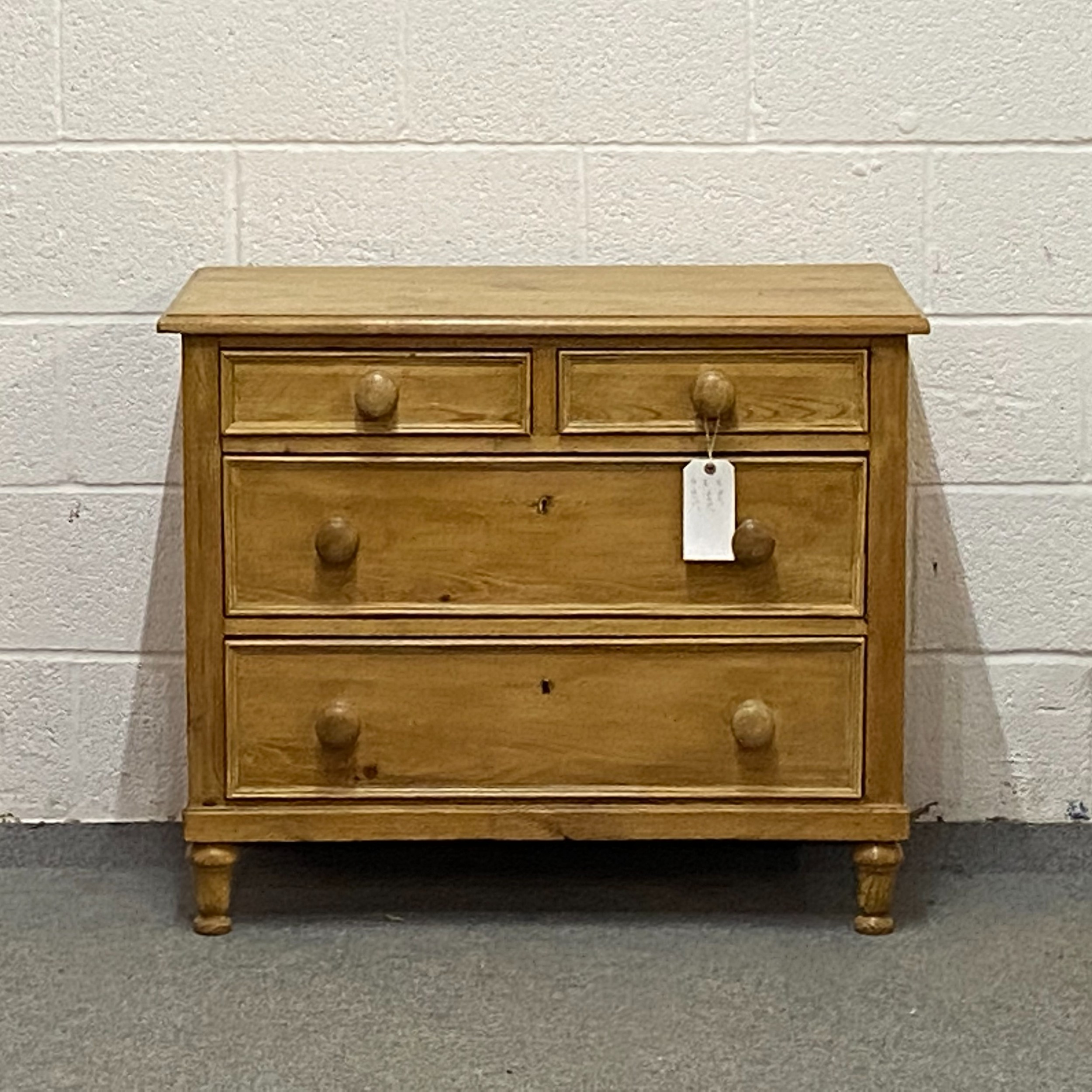 small old pine chest of drawers