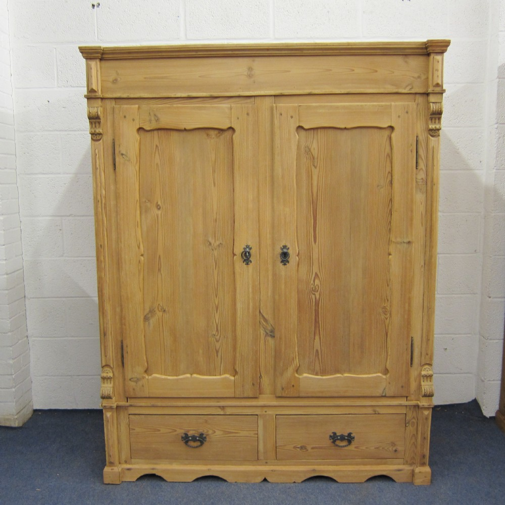 Antique wardrobe with drawers Short wardrobe with drawers