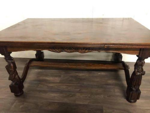 Large French Breton Dining Table 664173 Sellingantiques Co Uk