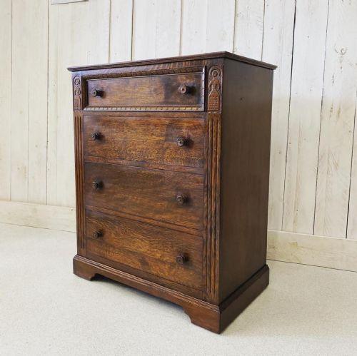 ipswich oak chest of drawers