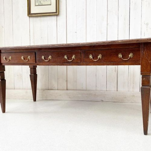 large library table