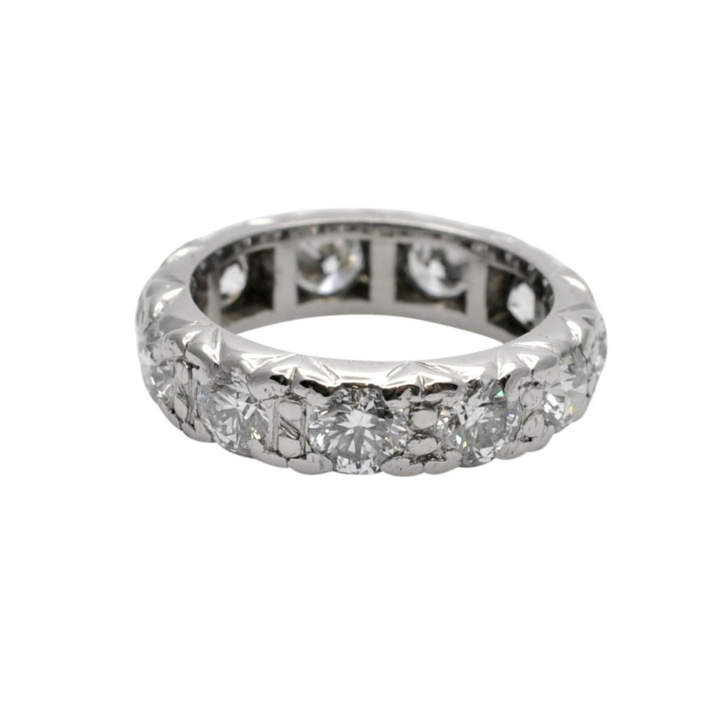 330ct diamond gold eternity ring
