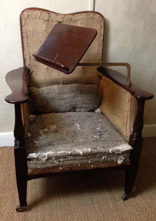 page load time 0.18 seconds - A Late Victorian Mahogany Reading Chair Attributed To Morris And Co