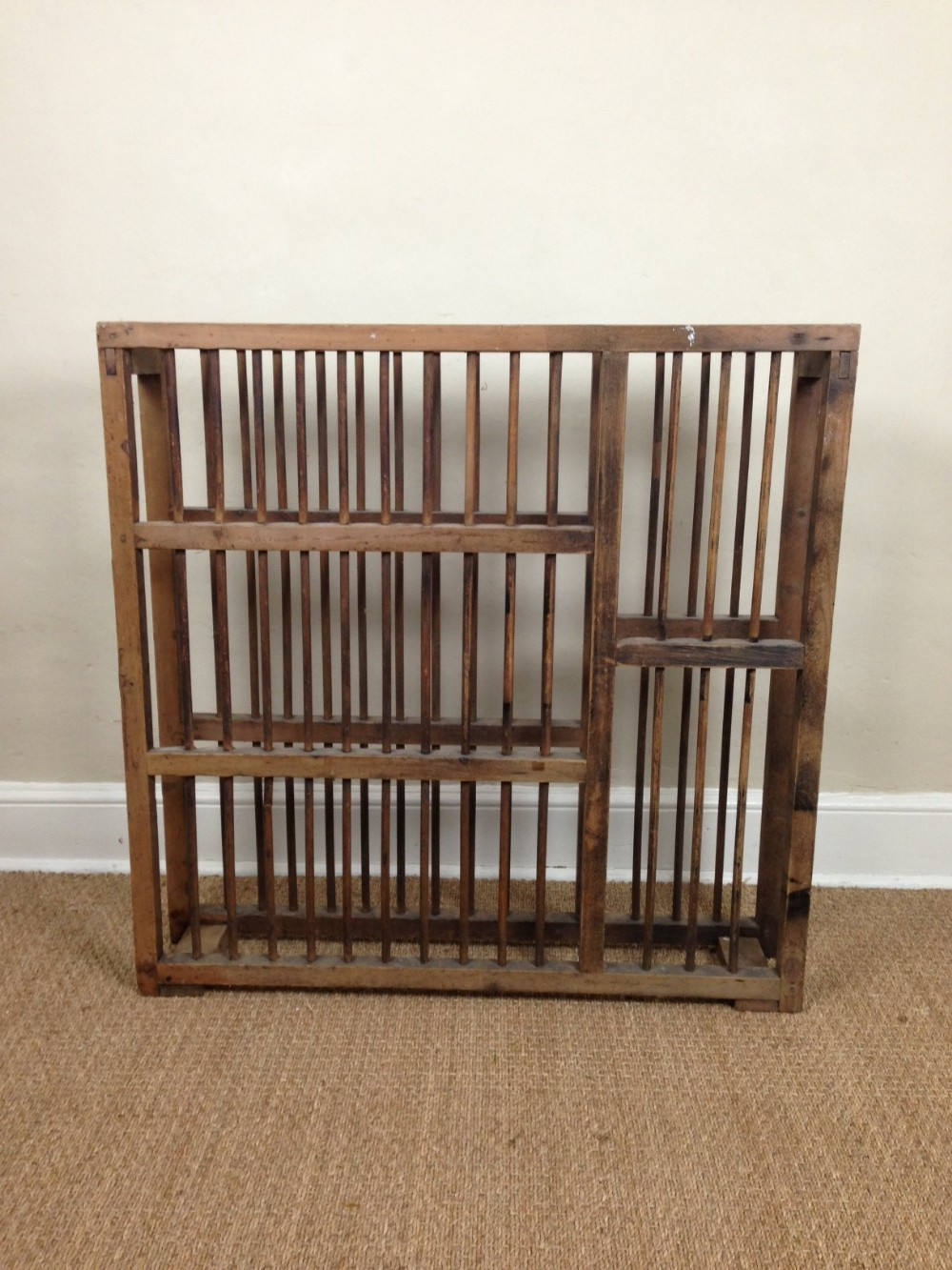 a large victorian pine and beech plate rack c 1900 & A Large Victorian Pine And Beech Plate Rack C 1900 | 243021 ...