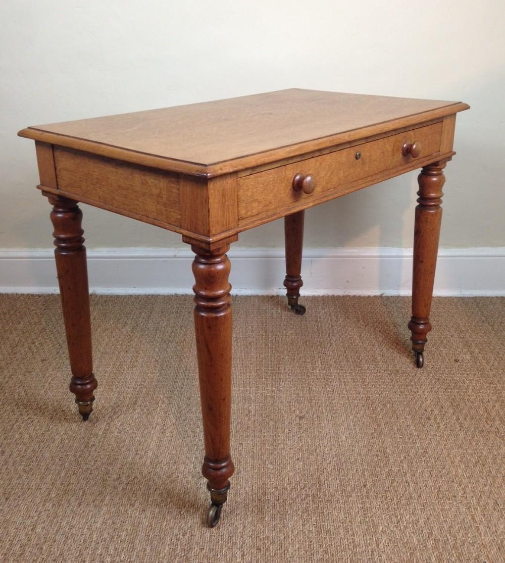 A William Iv Oak Writing Table C 1835