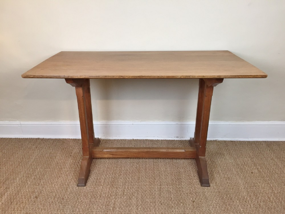 A Cotswold School Oak Small Refectory Table C 1930 | 320797 |  Sellingantiques.co.uk