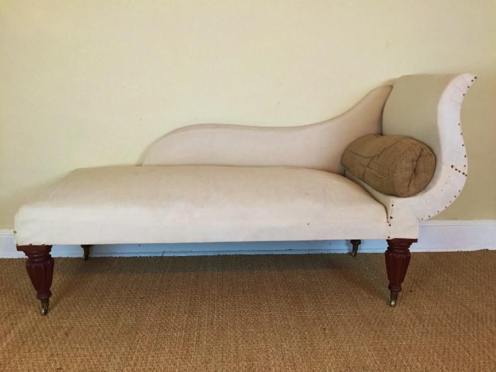 A Late Regency Mahogany Chaise Longue C 1830 | 379129 ... Regency Chaise Longue Uk on chaise recliner chair, chaise sofa sleeper, chaise furniture,