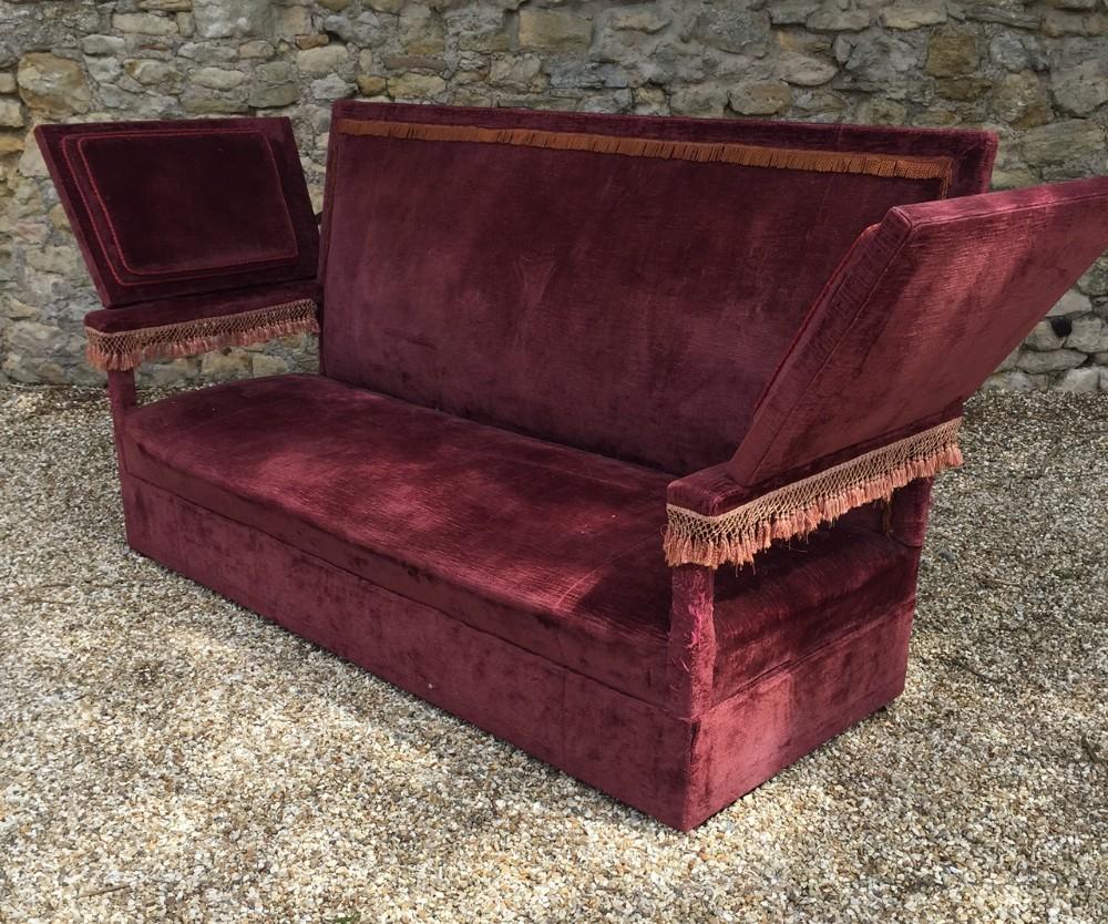 Phenomenal A Large Edwardian Velvet Covered Knole Sofa C 1910 404777 Inzonedesignstudio Interior Chair Design Inzonedesignstudiocom