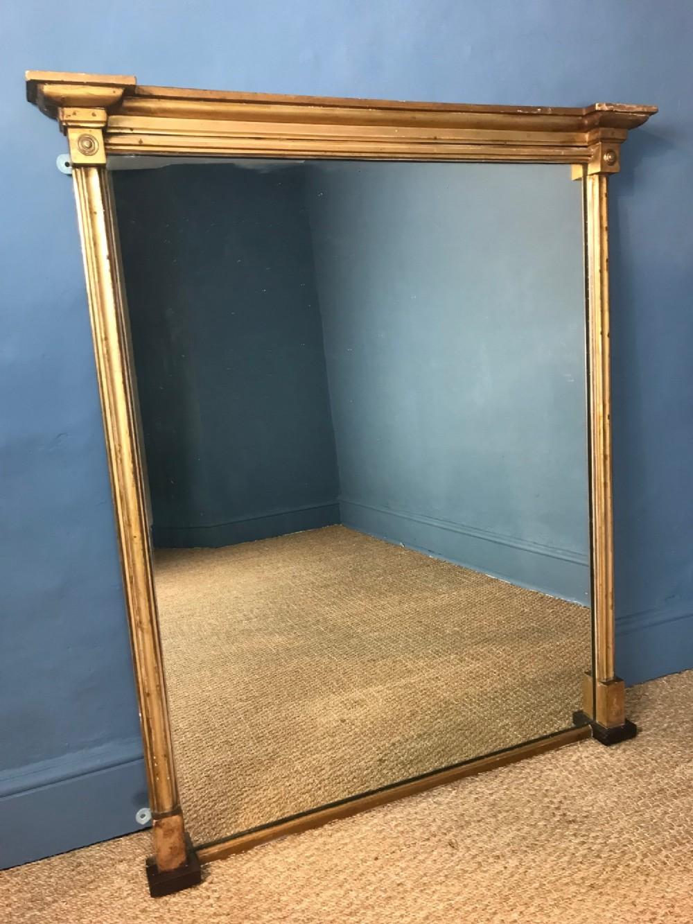a george iv gilt overmantel mirror circa 1830
