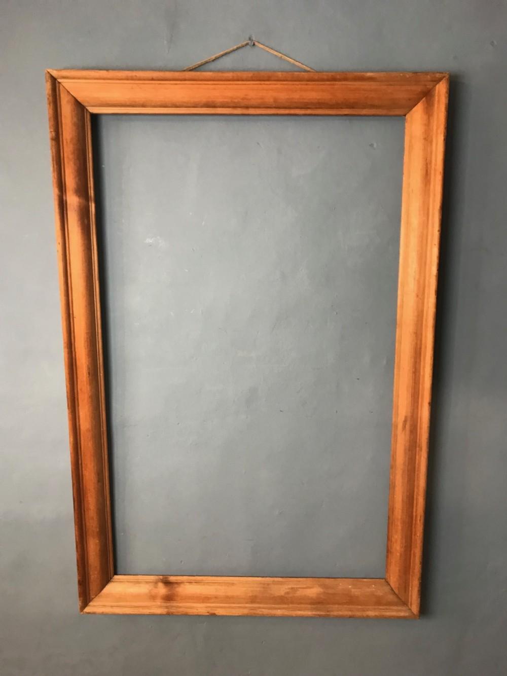 a large newlyn school pine frame circa 1930