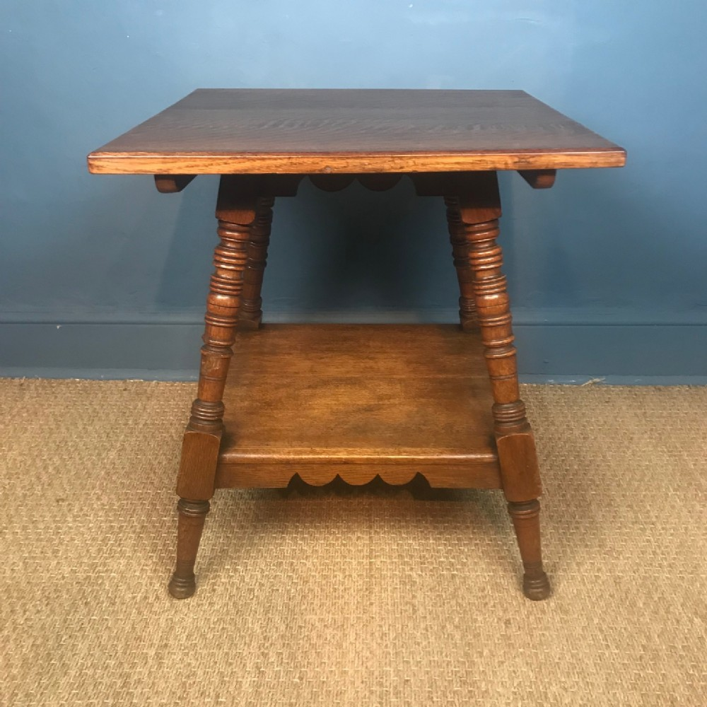 an aesthetic movement oak table circa 1880 designed by charles eastlake
