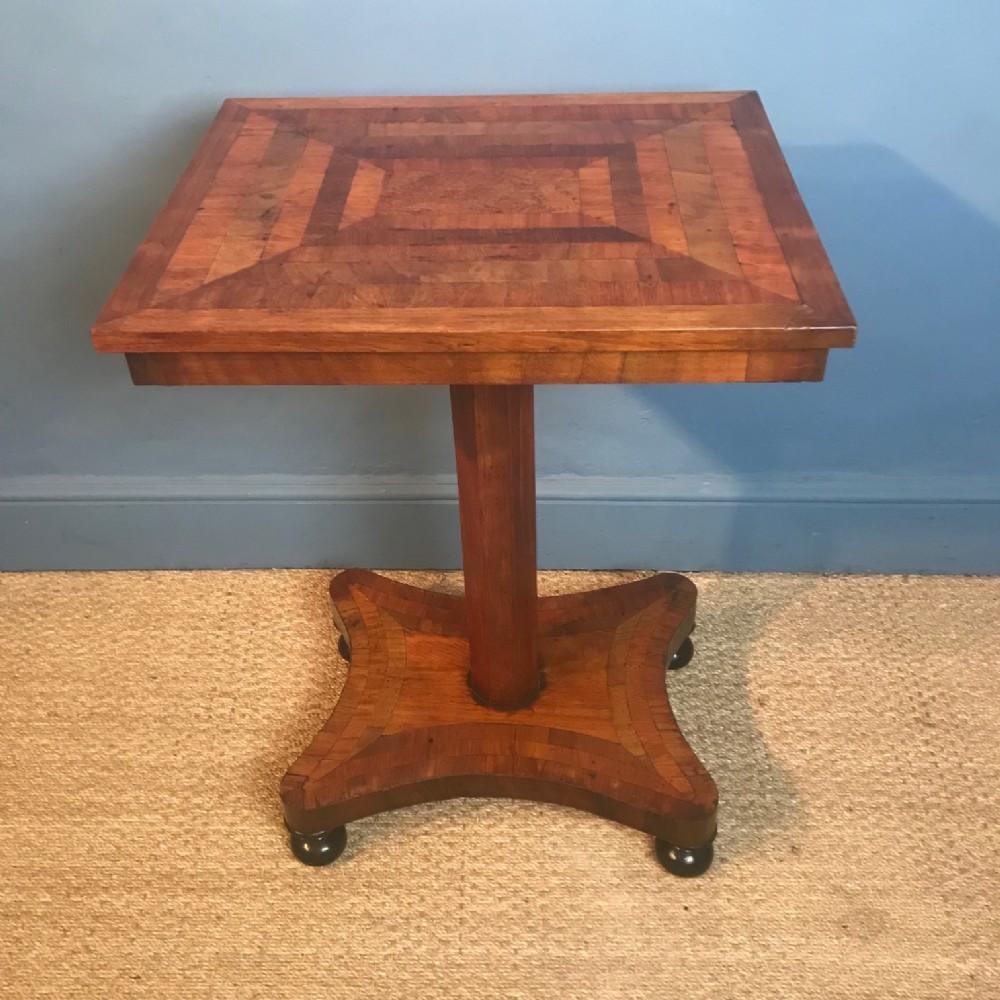 a rare colonial specimen table circa 1840