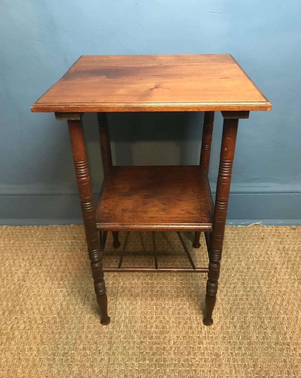 an aesthetic movement walnut table circa 1880 to a design by e w godwin
