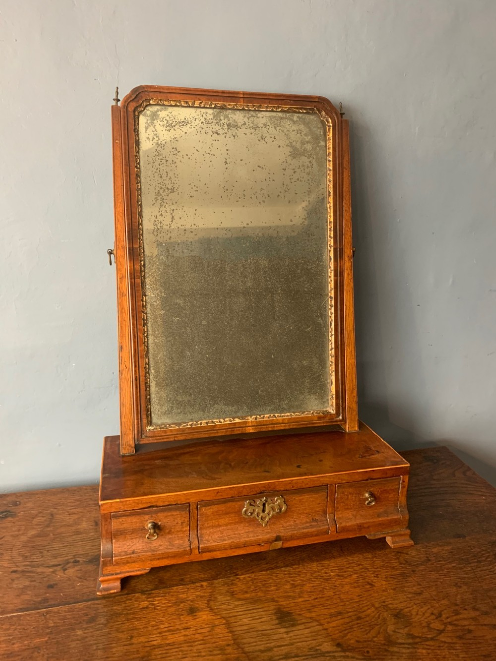 a george 11 mahogany swing frame toilet mirror circa 1750