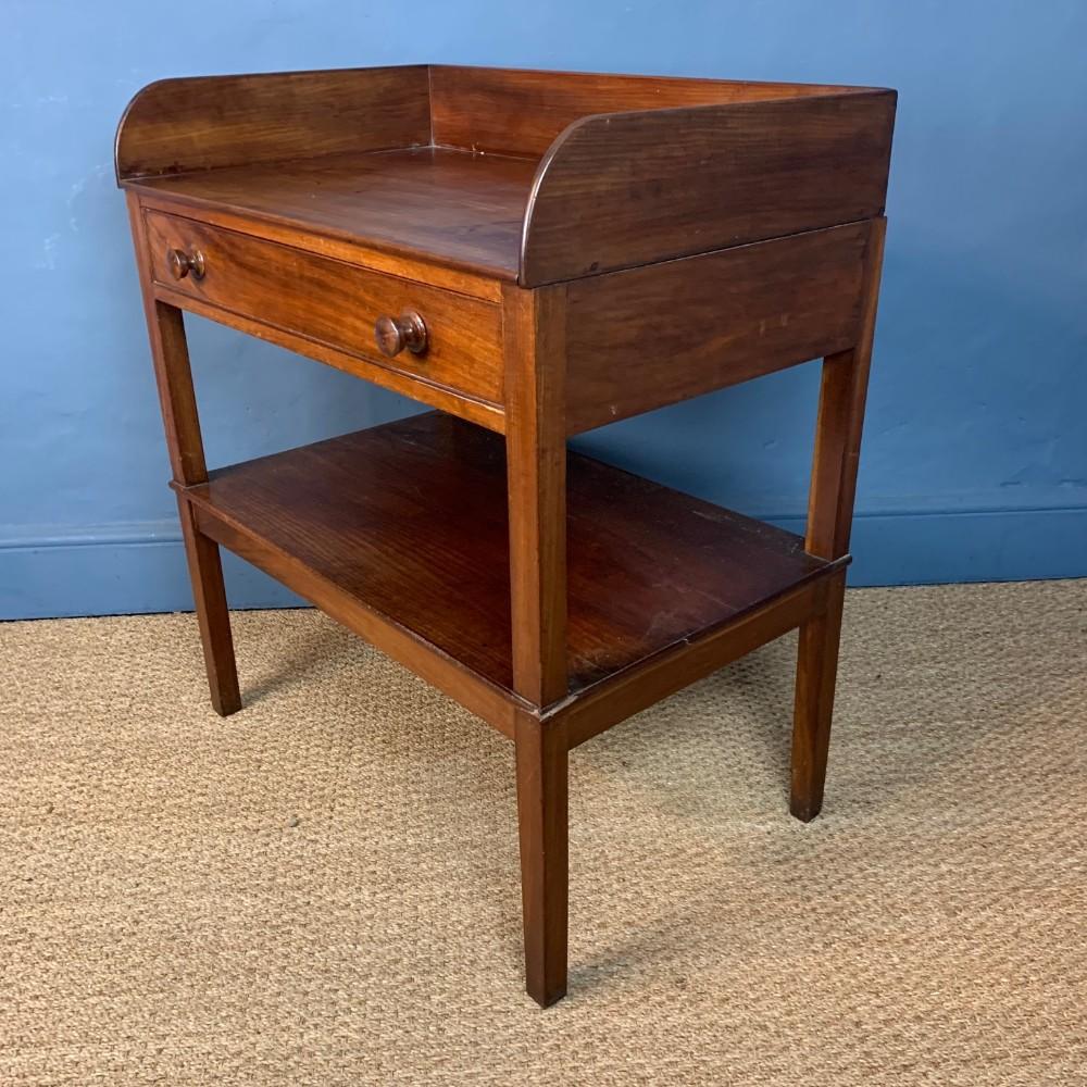 a george iv mahogany dressing table circa 1830