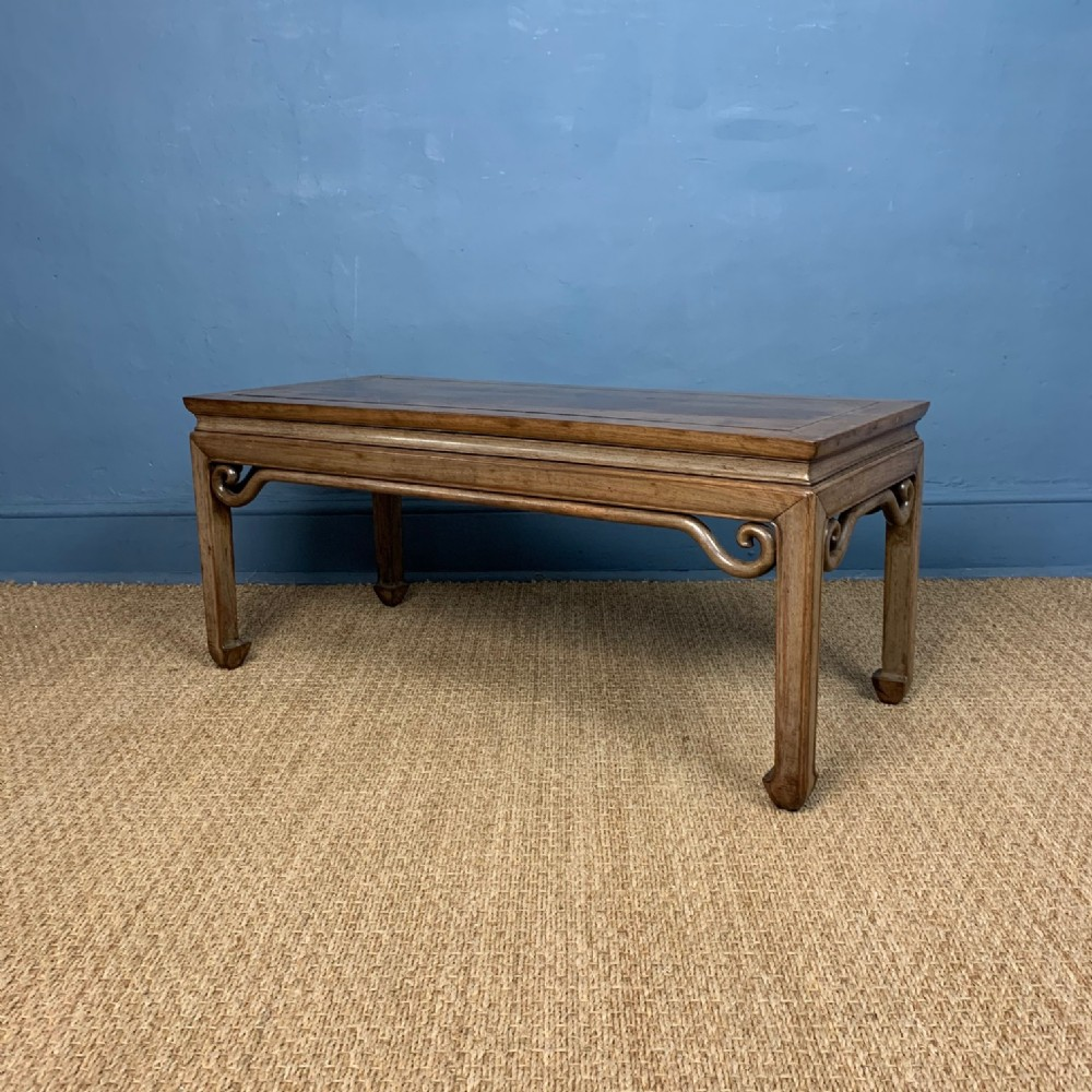 a late ching period chinese faded padouk opium or coffee table circa 1900