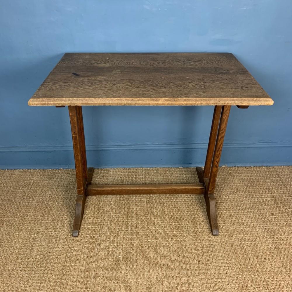 a cotswold school small oak refectory table circa 1920