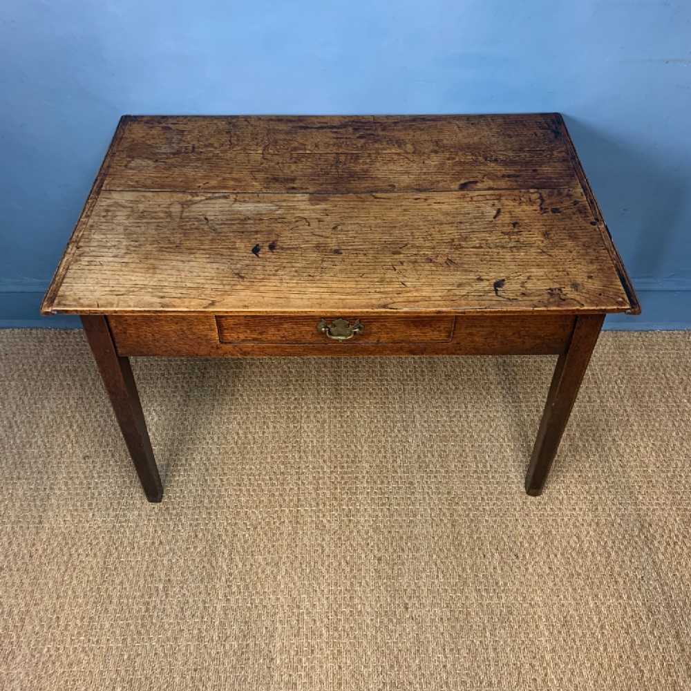 a george 111 oak side table c 1800