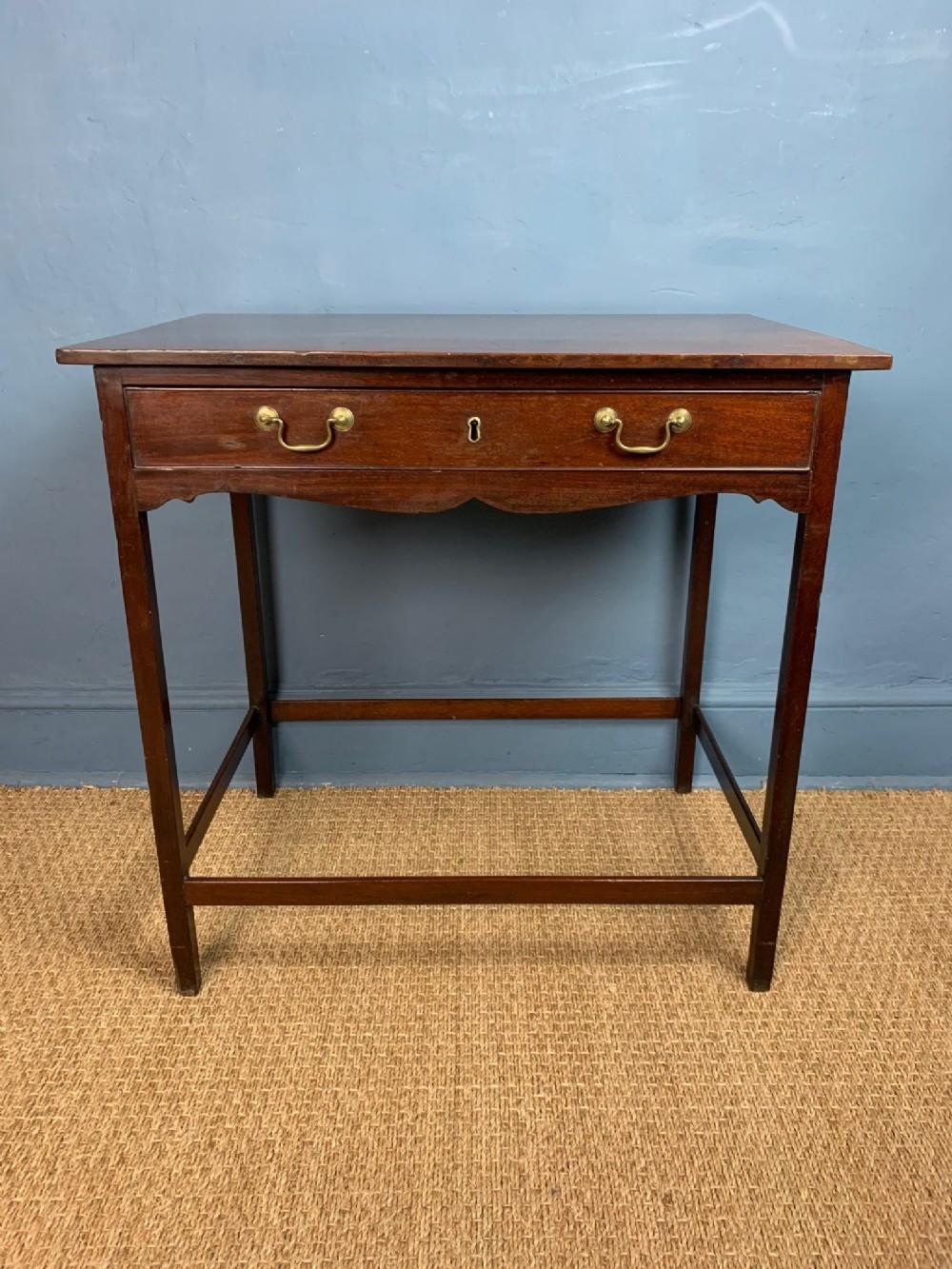 a george 111 mahogany side table circa 1790