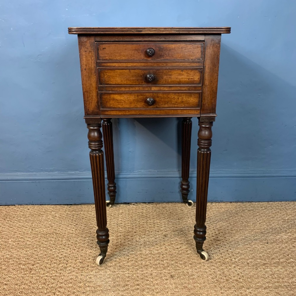 a george iv mahogany bedside table circa 1830