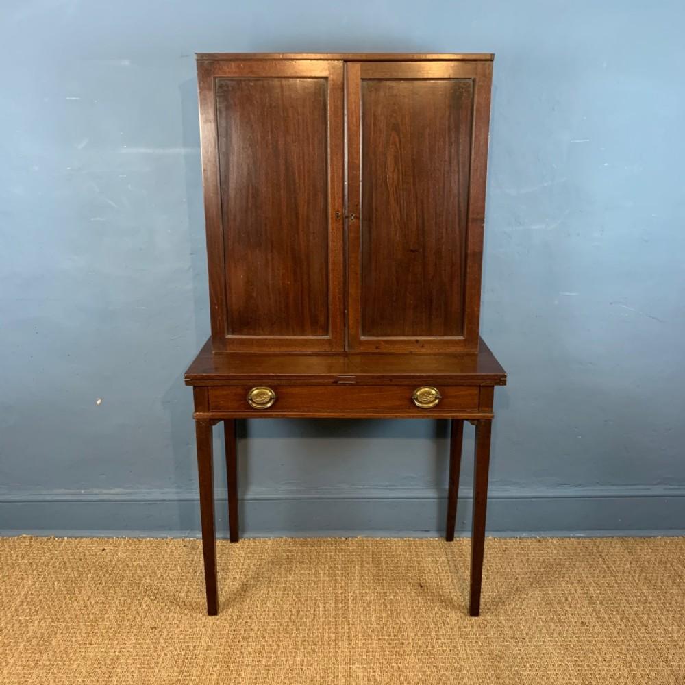 a george 111 mahogany estate desk circa 1800