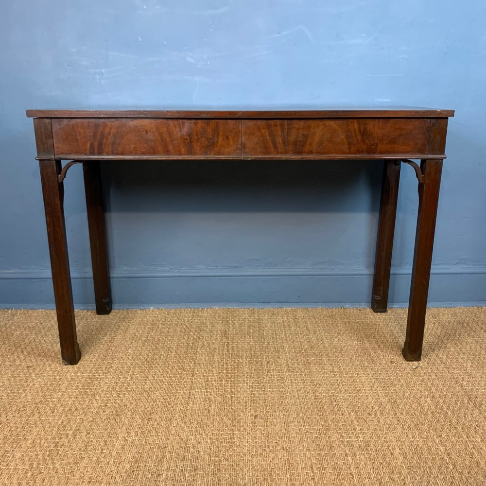 a george 111 style mahogany serving table circa 1900