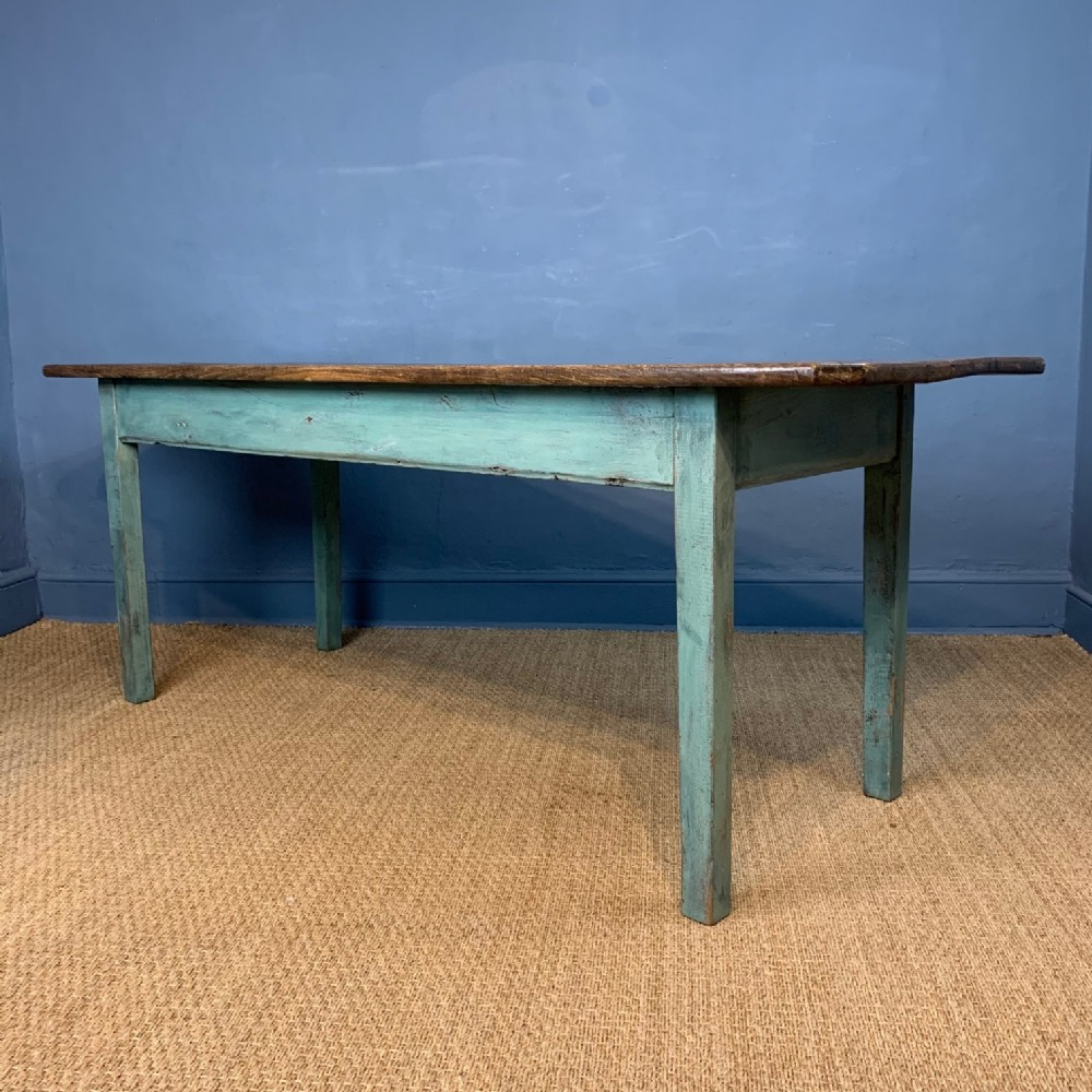 an early 19th century west country oak farm table