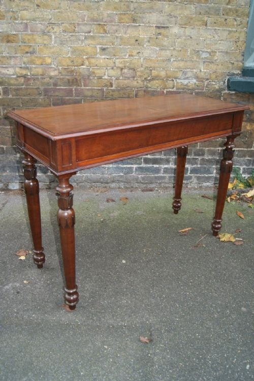 mahogany serving or hall table