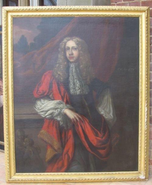 portrait of sir john percival bart 162986 circle of sir peter lely