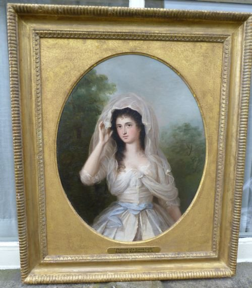 portrait of a young lady c1770 attributed to angelica kauffman