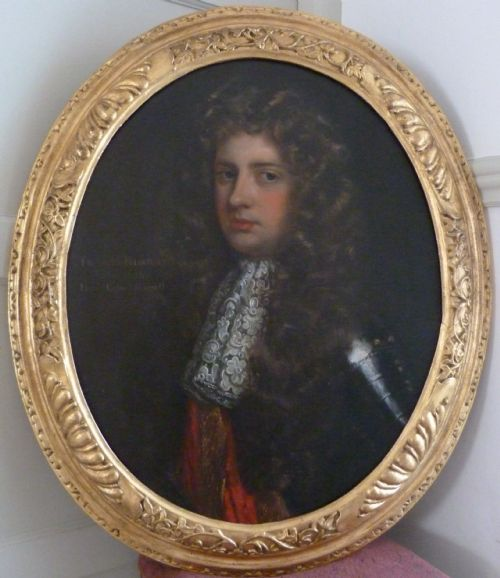 Portrait Of Colonel Francis Russell C. 1690; Attributed To