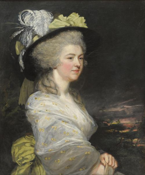 portrait of anne frederick 1782 by james northcote ra