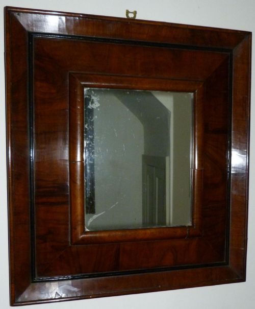 walnut mirror c1720